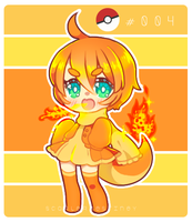 Charmander by Vocaloid-Mirai