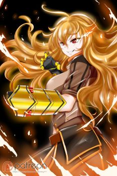 RWBY: Yang Xiao Long by kimmy77