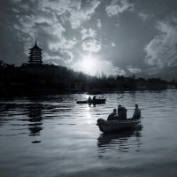 West Lake at Hangzhou by teemoh
