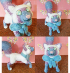 Kitty Needle Felt Doll [Commission] by FoxieFlower