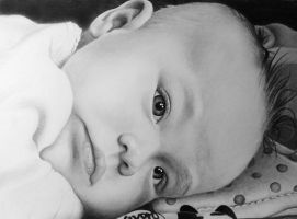 Baby drawing by ProfessorPicasso