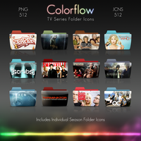 Colorflow TV Folder Icons 4 by Crazyfool16