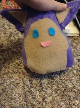 Tattletail plush by DelilahPines