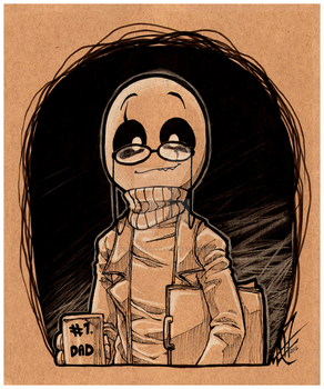 UNDERTALE - #1 dad - by BloodyArchimedes
