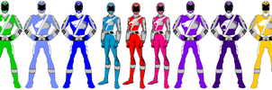 Power Rangers ARCADE CYCLE by SunFalconRanger
