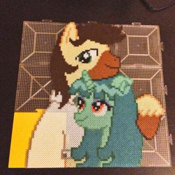 The Perler Pony Calpain x Ren Haru Gift For Waifu by Perler-Pony