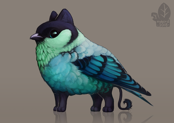 Auction: Black-Capped Tanagerling by nybird