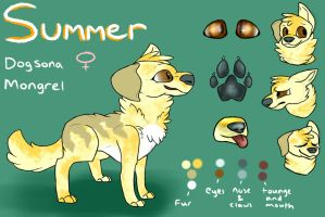 Summer Reference Sheet by Galactic-Fire