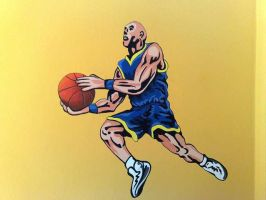 basketball player by Theatricalarts