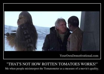 MISINTERPRETING ROTTEN TOMATOES by BluJayPlayer