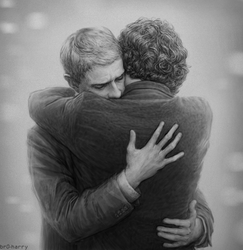 John and Sherlock by br0-Harry
