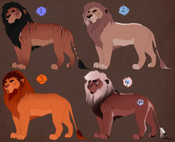 Male base adopts. CLOSED: by BeeStarART