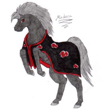 Akatsuki horses: Madara by nightwindwolf95
