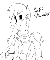 Alaric Skywalker: Jedi Knight of the Wind by manicgirl155