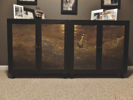 painted furniture by KevinNichols
