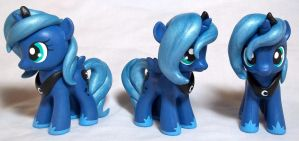Filly Luna Customs by CadmiumCrab