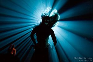 Heavy metal silhouette by photopass