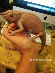 Chameleon wip by GalileoN