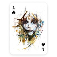 Ace of Clubs - Playing Cards Kickstarter Project by Carnegriff