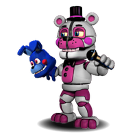Adventure Funtime Freddy (Face Open) by PrimeYT