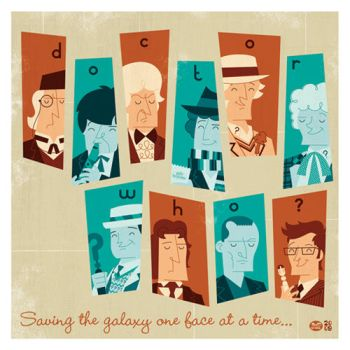Doctor Who by Montygog