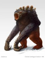 Nephentroll - creature concept by Cloister