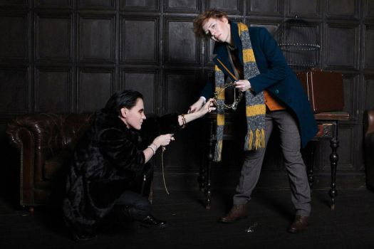 Newt Scamander and Niffler cosplay IV by MigraineSky
