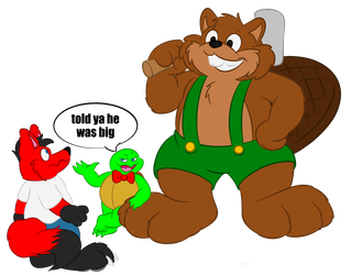 Creg The Beaver by boutin2009