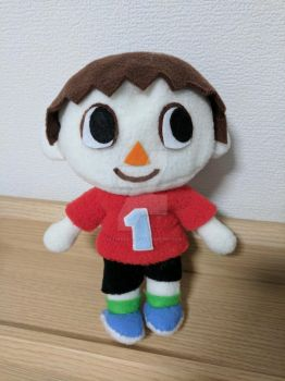 Villager Plush by ultimatecheez