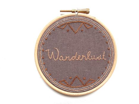 Custom empowerment word embroidery by i-am-enrooted