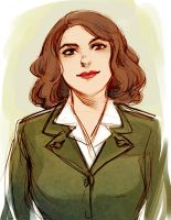 Peggy Carter by beanclam