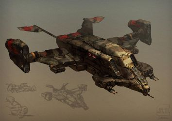 VTOL sketch by BrotherOstavia