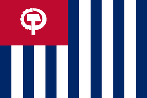 Flag of the United American Workers Republic by ArthurDrakoni