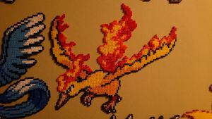 Pokemon #10 - Moltres by MagicPearls