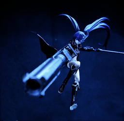 Black Rock Shooter by Solastyre