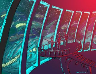 V.Q. Timeline 2015 (Space Whales) by samhears