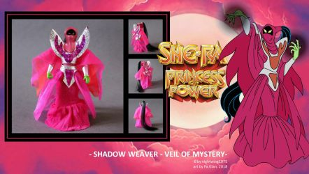 Shadow Weaver veil of mystery FILMATION style by FaGian