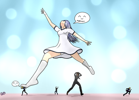 Fiore the Dancer by JohnTennantGTS