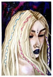 Her Dreadlocked Highness by polyvidone