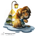 Daily Painting 1695# Chronicles of Yarnia by Cryptid-Creations