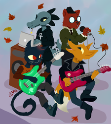 Weird Autumn by Gwen-Fox