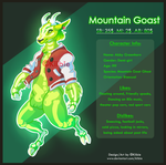 Mountain Goast - Auction -Closed- by Kiibie-Adopt