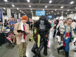 fun times Ryuk at con.  by Grellish