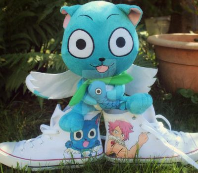 Fairy Tail shoes by ViivaVanity