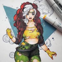 Rogue by Stephanie Michelle by Shlickcunny