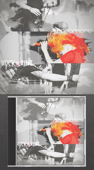 Rock Am Ring - Paramore album cover by Miss-Machi