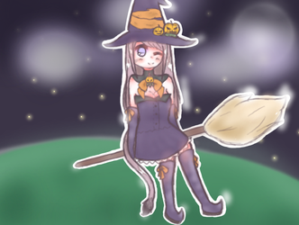Witch by Hephsin-Latte