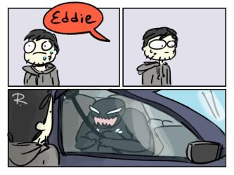 Venom the movie doodles 1 by Ayej