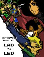 Void Battle 1 LAD vs LEO Cover Page by KingofLions
