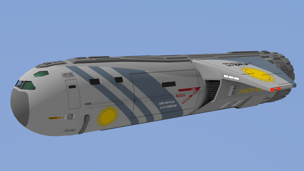 30ton Slow Boat - Imperial Navy by riftroamer